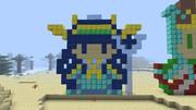 【Minecraft】ドット絵でイシス【パズドラ】