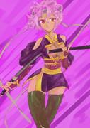戦国武将姫muramasa ニンジャの娘、名前は知らん、他カード強化の為とっくに餌になった。