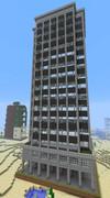 【Minecraft】地球防衛軍に出てきた建物を作ってみた7(完)【EDF】