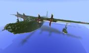Minecraftで二式大艇!