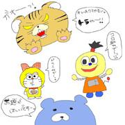 2013.7.11生放送で描いたもの★part2