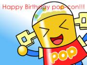 ポプコン誕生日おめでとう!!