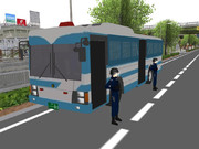 【MMD】大型輸送車(警察)作成中  2