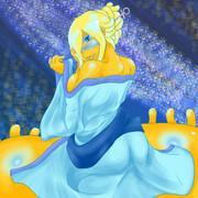地に降りた七夕海月姫