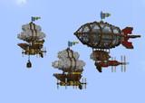【Minecraft】飛行船たち