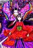 日本三大悪鬼その弐 中成般若・六条御息所(はんなりのはんにゃ・ろくじょうのみやすどころ)