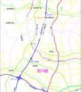 多田野地区地図(架空地図)