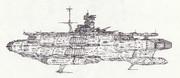 宇宙強襲打撃航空母艦オワリ「自作艦」