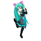 【GIFアニメ】 Neko Sisters Dance Loop ver.