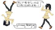 ワタモテEDカード用イラスト