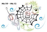 No.10~No.12