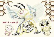 No.13~No.15