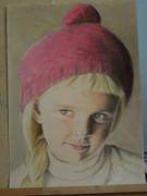 赤い帽子の少女
