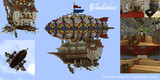 【Minecraft】飛行客船グラジオラス