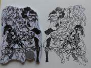 【消しゴムはんこ】「プリズマ☆イリヤ」を彫ってみた。