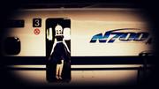 東京駅・N700A発車前