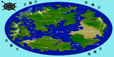 【Minecraft】新天地Fleuria(フルーリア)世界地図