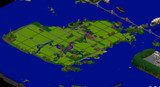 【Minecraft 】 小さな島の農村 全体マップ