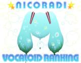 NICORADI VOCALOID RANKING