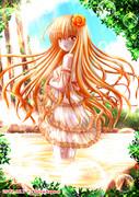 オレンジの妖精