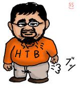 水曜どうでしょうでお馴染み「藤村 忠寿」さんを描いてみた。