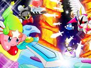 星のカービィ4剣士!