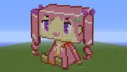 [Minecraft]箱ドットワトラちゃん