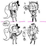 看板娘vs妖夢