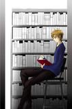 読書してます。