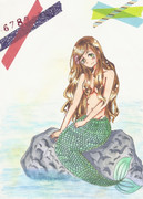人魚姫エリザちゃん