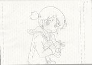 長野原みお ノートに描いてみた