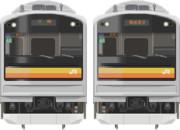 【南武線】MSペイントで205系1200番台描いてみた。。