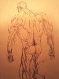 鎧の巨人 模写