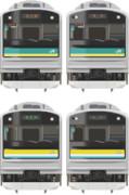 【横ナハ】MSペイントで205系1000・1100番台描いてみた。
