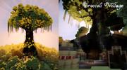 【Minecraft】ブロッコリ村