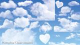GIMP&Photoshop用の雲ブラシ配布