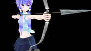 弓矢の練習
