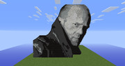 minecraft ドット絵 Jason Michael Statham