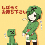 ニコ生保留画面(クリーパーカーver.)