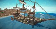 【Minecraft】外輪船