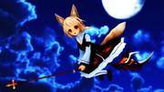 お月見狐の宅配便♪
