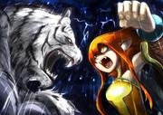 βάρβαρος roar