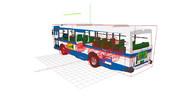 物理演算で走るバス