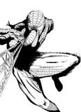 スパイダーマン 線画