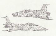空間艦上攻撃機アベンジャー&空間艦上攻撃機テンザン「自作機」