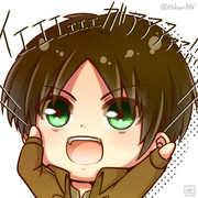 アイコン用・∠(゚Д゚)/イエエエエェェェェェェガアアアァァァァァッ!!!!!