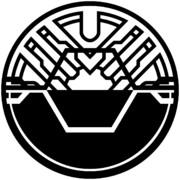 仮面ライダーバースのライダーズクレスト(塗りつぶし)