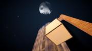 [Minecraft]夜の街にて