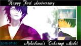祝★nekodama式高杉モデル1周年