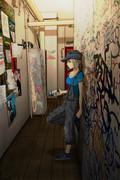 HIP HOP 4大要素 GRAFFITI #4